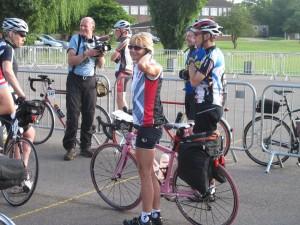 Nicky Gough - London Edinburgh Charity Cycle for Oxfam